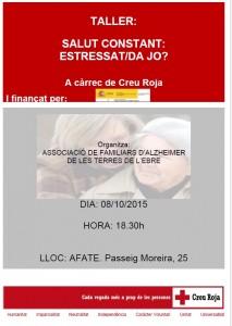 Xerrada: Estressat/da Jo?