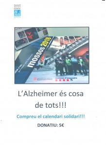 cartell calendari